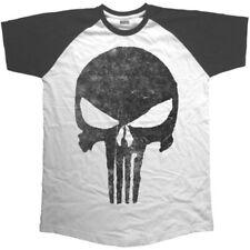 Short Sleeve Raglan Skull for Men