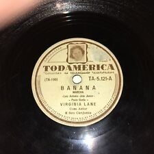 Virginia Lane Banana / Sassaricando Todamerica TA-5.121 1951 Brazil Very Rare 78