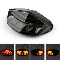 Integrated LED Tail Light Turn signals For DUCATI Monster 696 795 796/1100 Sm AU