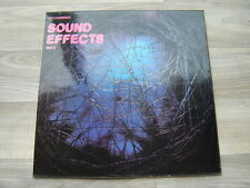 SOUND EFFECTS No 2 FX LP soundtrack LP BBC library tv film 1970s GUNFIRE CRASHES