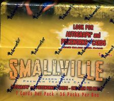 Smallville Season 3 Factory Sealed Hobby Box 36 Packs