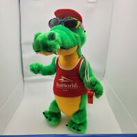 VTG Seaworld Life Guard Alligator Nanco Plush Stuffed Animal 18""