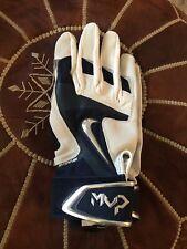 New Nike Uconn Mvp Hyperfuse Men's Size M Baseball Batting Gloves Pgb446 104