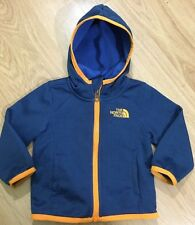 The North Face Jacket Baby Toddler Size 3-6 Months Blue Orange