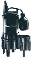 Master Plumber 4/10 HP  Automatic Submersible Sewage Ejector Pump 540056