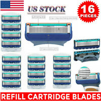 Mens Gillette FUSION Proglide Power Razor Shaver Blades 5-Layer Hot 16PCS USA