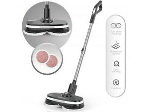 Gladwell Cordless Electric Mop - 3 in 1 Spinner Scrubber Waxer Scrubber & Buffer