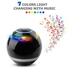 Wireless Bluetooth Speaker Subwoofer Mini Round Portable Magic Ball For iPhone