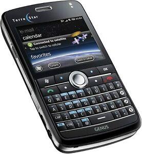 SATELLITE SMARTPHONE TERRESTAR GENUS SATELLITE WINDOWS GSM GLOBAL CELL PHONE