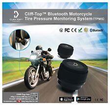 Cliff-Top ® Motocicleta Bluetooth Sistema De Monitoreo De Presión de Neumáticos TPMS ()