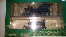 Bachmann On30 #28321 PAINTED, UNLETTERED 4-4-0 OUTSIDE FRAME STEAM ENGINE  DCC!!