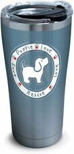 Tervis 1293931 Puppie Love-Blue Pup Tumbler with Clear and Black Hammer Lid, 20