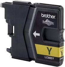 Cartuchos de tinta amarilla originales Brother para impresora