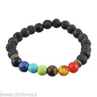 FL:1 Mehrfarbig Bettelarmband Armband Gebetsperlen Türkis DIY 20cm