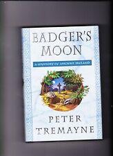 Peter Tremayne Badger'S Moon 1st/1st Ed.Hardcover *Mint*