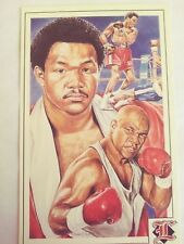 George FOREMAN Legends Sports Memorabilia Archives-Postcard- 1992 /Free Ship.USA