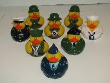 Military Rubber Ducky Duckies Duck Set (8 Ducks)