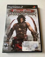 Prince of Persia: Warrior Within (Sony PlayStation 2, 2004) COMPLETE