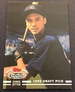 2021 Topps Stadium Club Greats Derek Jeter #SCG-25 New York Yankees