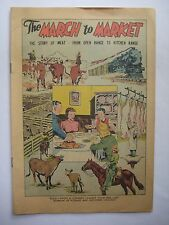 1948 The March to Market Swift & Company Pictorial Media Comic Book Giveaway