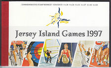 Jersey 1997 Island Games Booklet Fine Mint SGSB55 Cat £18.00 (Face £8.72)