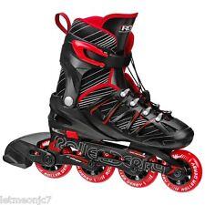 Kids Inline Rollerblades Roller Derby Blade Skates Adjustable Medium Boys Girls