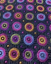 PANACHE SILK DESIGNER SUIT DRESS NECKTIE TIE BROWN FREE SHIPPING