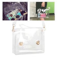 Klare Tasche Eimer Tasche Mode transparent Damen Schulter umhänge Strand lä X3M7