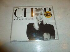 CHER - Walking In Memphis - 1995 UK 3-track CD single