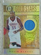 KEVIN DURANT 2011-12 GOLD STANDARD GOLD STARS JERSEY CARD  #1 053/149