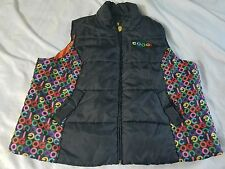Coogi 4XL Men's Black Puffy Bubble Vest Coogi logo