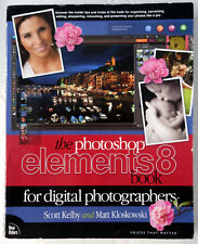 Photoshop Elements 8 Book for Digital Photographers Kelby & Kloskowski 2010 PB