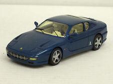 Ferrari 456 GT 2+2 in blaumetallic, o.OVP, Starter, 1:43, Handarbeit