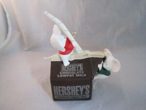 Hallmark Sweet Discovery Hershey's Chocolate Milk Mice Ornament Full Size