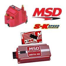 MSD 9956 Ignition Kit - 6425 Digital 6AL Ignition Box & 8207 Blaster SS Coil