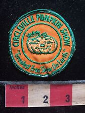 Vtg CENTERVILLE PUMKIN SHOW OHIO Greatest Free Show On Earth Patch 75Y6