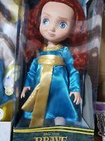 "Disney Animator`s Collection ""prensses Merida 16""New, christmas gift girl"