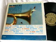 ONE WORLD JAZZ J.J. Johnson Ben Webster Kenny Burrell Martial Solal Jo Jones LP