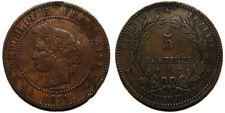 5 centimes Cérès 1871 A, grand A