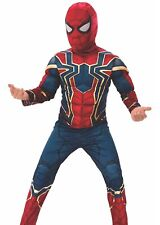 Iron Spider Spiderman Costume Child Large Padded Muscle Chest Youth Avengers