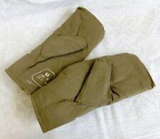 USSR Soviet Russian Army Fur Mittens Natural Sheepskin size L * 1986 Original