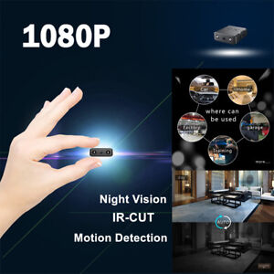 Car Home Micro Hide Spy Camera 1080P HD Infrared IR-CUT Night Vision Loop Video