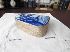 Antique Chinese Pottery Shard Trinket Box