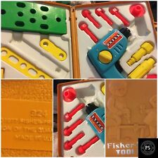 New ListingVintage Fisher Price 1977 Tool Kit Drill Original Box Toy Collect Sku 012-029