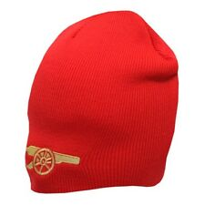 9dffc2b73f2 Offiziell Arsenal F.c Knitted Gunner Beanie Winter Hat Red Ideal Gift for  Fan
