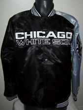 CHICAGO WHITE SOX MLB STARTER Snap Down Jacket Sping/Summer BLACK/GRAY