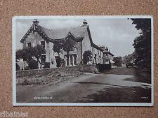 R&L Postcard: WW2 WWII View of Skelmorlie Scotland, 1944 Bus Street Scene