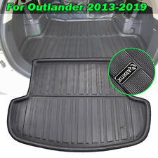 For Mitsubishi Outlander 13-19 Boot Cargo Liner Rear Trunk Tray Floor Mat Carpet