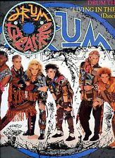 DRUM THEATRE living in the past 12INCH 45 RPM HOLLAND 1985 EX