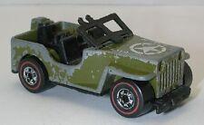 Redline Hotwheels Olive 1976 Gun Slinger oc7001